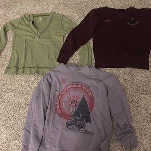 Sweatshirt/long sleeve bundle